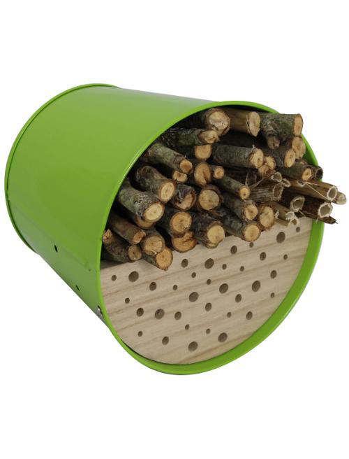 nichoir abri pour oiseaux en acier galvanis vert guillouard articles pour la cuisine le. Black Bedroom Furniture Sets. Home Design Ideas