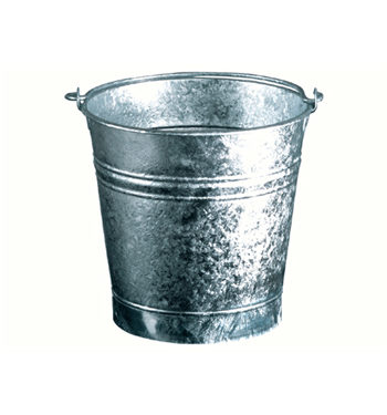 13 liters flared bucket , diameter 30cm