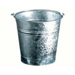 16 liters flared bucket , diameter 32cm