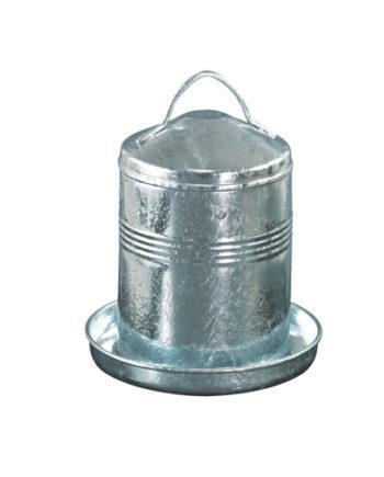 Abreuvoir 5L en acier galvanisé 6L