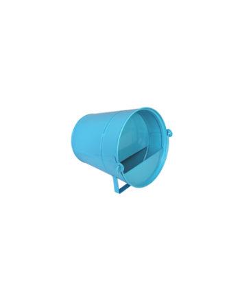 Abreuvoir bleu en acier galvanisé 6L