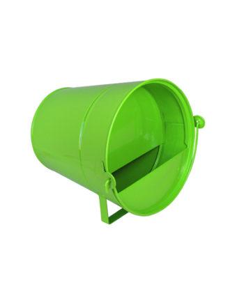 abreuvoir vert en acier galvanisé 6L