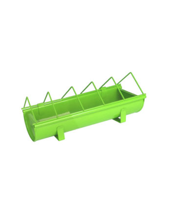Green Galvanized Steel Animal Feeder Guillouard Green 30cm