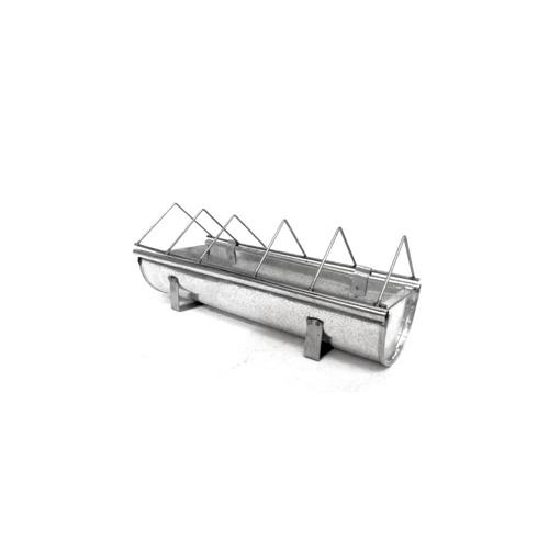Mangeoire en acier galvanisé pour animaux Guillouard Acier 30cm