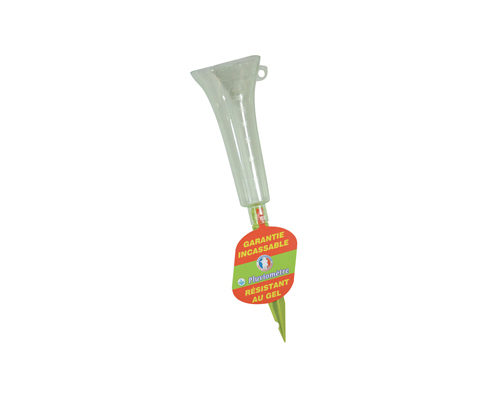 Discover this unbreakable plastic rain gauge!