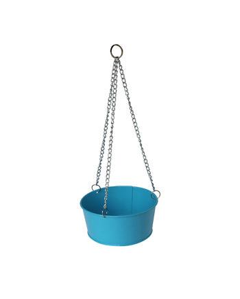 Bain d'oiseau pour jardin Bleu 1.5L