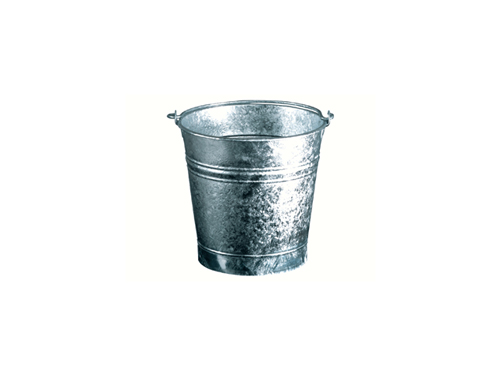 9 liters flared bucket , diameter 26cm