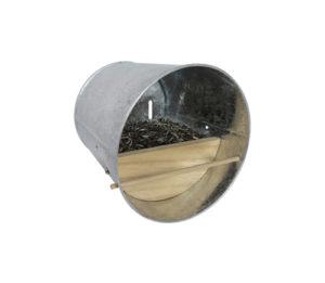 Nichoir – Abri pour oiseaux en acier galvanisé