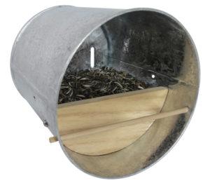 Nichoir - Abri pour oiseaux en acier galvanisé