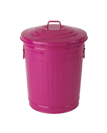 Trash 30 liters fuchsia pink