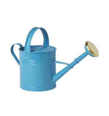 ARROSOIR Galvanisé d'une contenance 5Litres, Bleu
