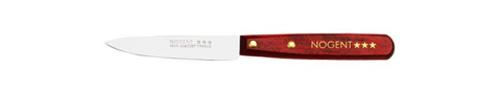 Couteau d'office avec son manche en bois pour les repas