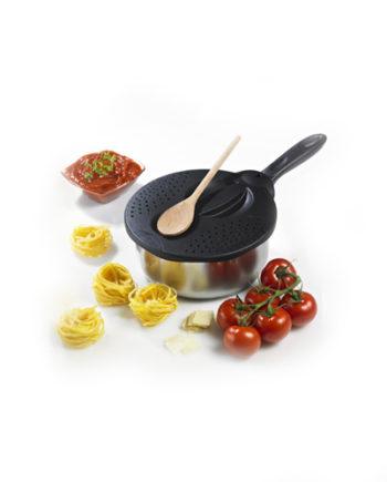 Couvercle multifonction 4 en 1 pour cuisson et préparation