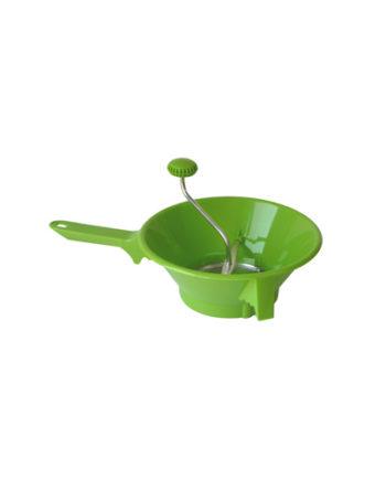 Moulin à légumes vert signé Guillouard de couleur verte !