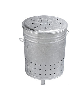 Garden Waste Incinerator 110 liters galvanized steel