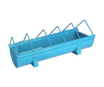 Mangeoire en acier galvanisé pour animaux Guillouard Bleu 30cm