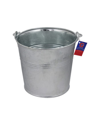 Bucket of guaranteed galvanized steel household 20 years 7L