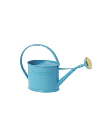 Arrosoir azur en acier galvanisé d'une contenance de 1.75L Bleu
