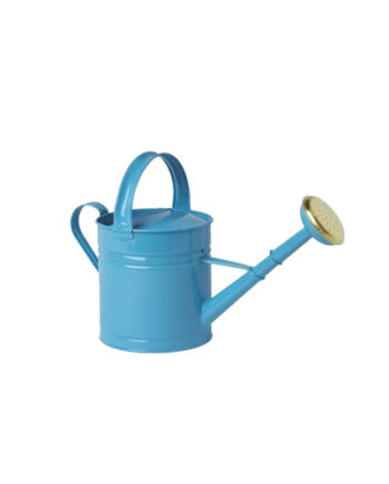 Arrosoir bleu galvanisé d'une contenance 5Litres, Bleu