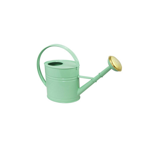 Arrosoir galvanisé d'une contenance de 4L Vert Pastel