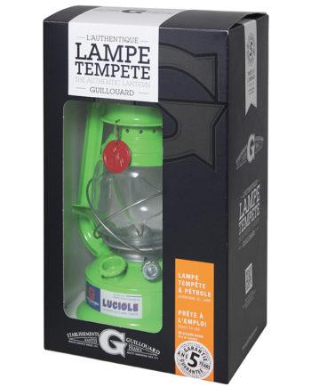 LAMPE VERT COFFRET CADEAU