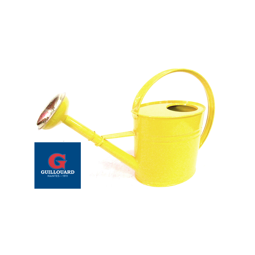 New lemon yellow watering can Guillouard
