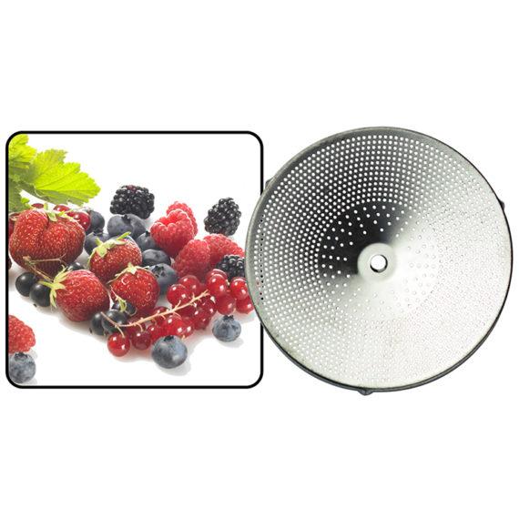 Découvrez la grille à petit trous pour passe légumes Guillouard